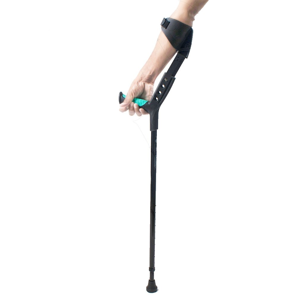 Adjustable Elbow Crutch (Soft Top Handle)-Physio Supports- Physio Supports Tynor Ankle Brace with Straps · Tynor Ankle Wrap · Tynor Arm Sling · Tynor Back support Tynor Breathable Wrist Brace Tynor Ceramic Ankle Support · Tynor Elbow Support. physio supports. australia. fracture. sprained ankle, orthopedic appliances,Orthopaedic Braces & Supports