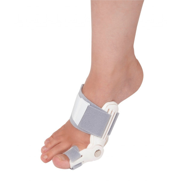 Tynor Australia Bunion Corrector and Bunion Relief Hinged Orthopedic Bunion Splint with Hallux Valgus Bunion Pads Bunion Bootie Toe Straightener Guard to Realign Toes and Foot Pain Relief
