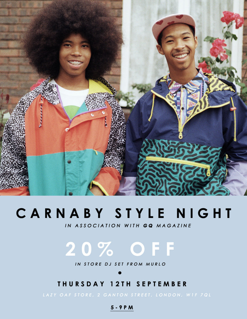 Carnaby Style Night with GQ '13