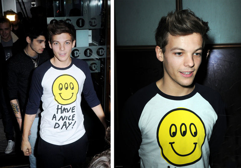 Louis Has A Nice Day in Lazy Oaf