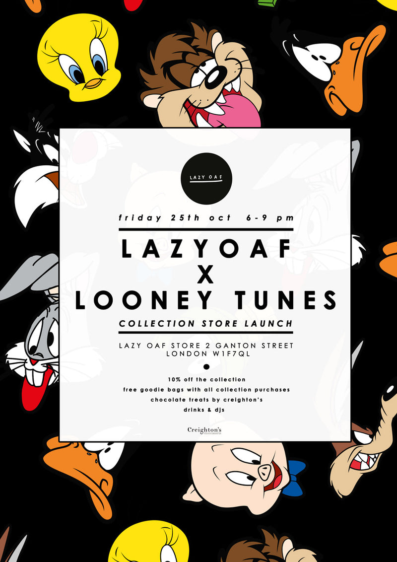 Lazy Oaf x Looney Tunes Launch In Store