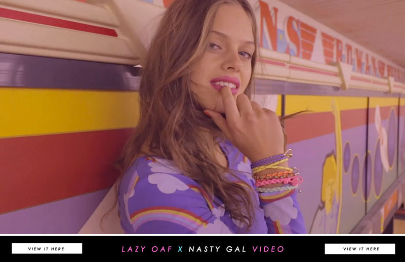 Lazy Oaf x Nasty Gal: On Film