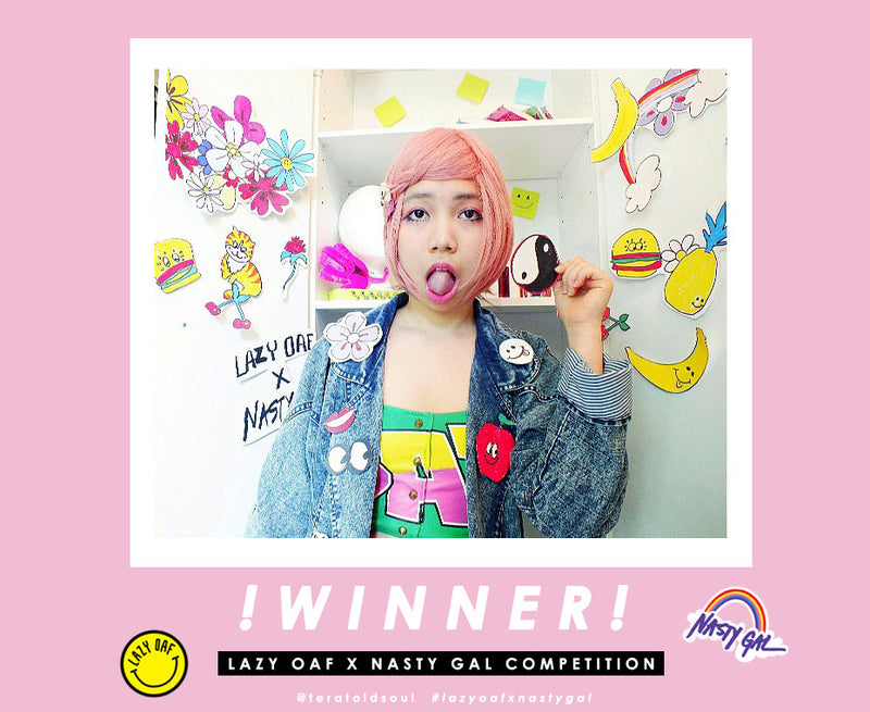 Lazy Oaf x Nasty Gal Competition: WINNER!