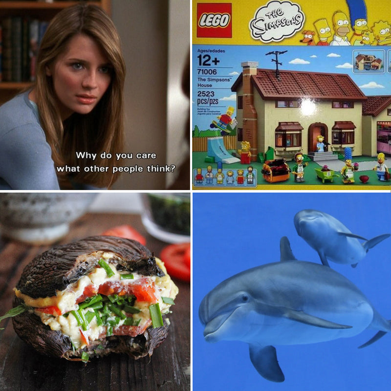 See You Next Tuesday: Simpsons Lego, Healthy Living and Dolphin Spying