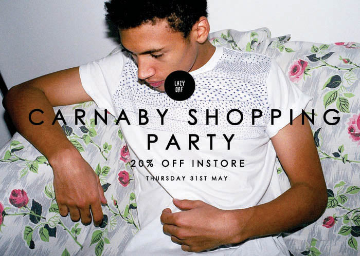 20% Off Carnaby Shopping Party