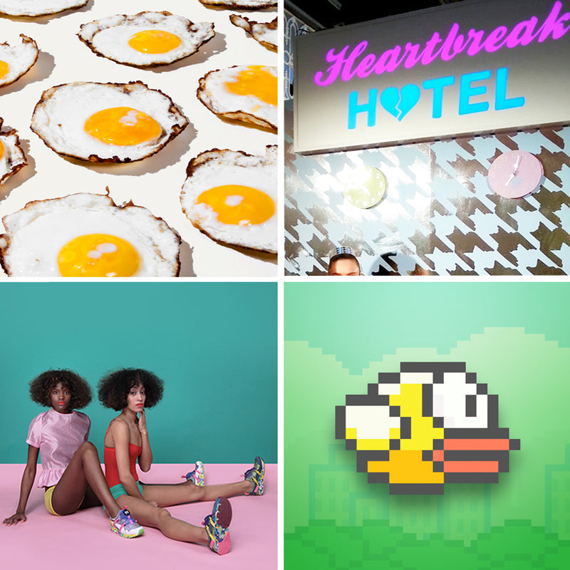 SEE YOU NEXT TUESDAY : Fried eggs , Flappy birds and Fashion Week Picks