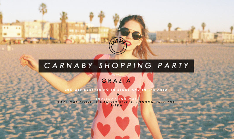 Grazia 20% Off Shopping Night at Carnaby Street