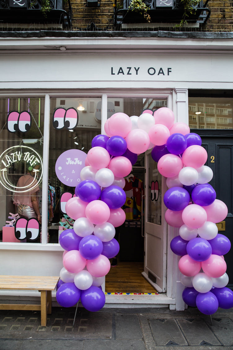 A Wibbly Wobbly Launch Party from Lazy Oaf & JuJu