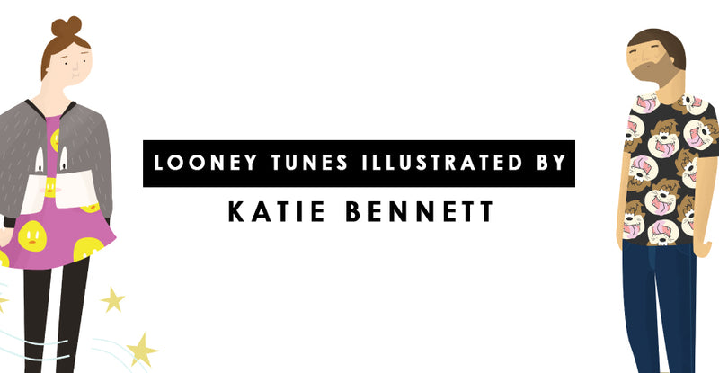 Looney Tunes Illustrated By Katie Bennett