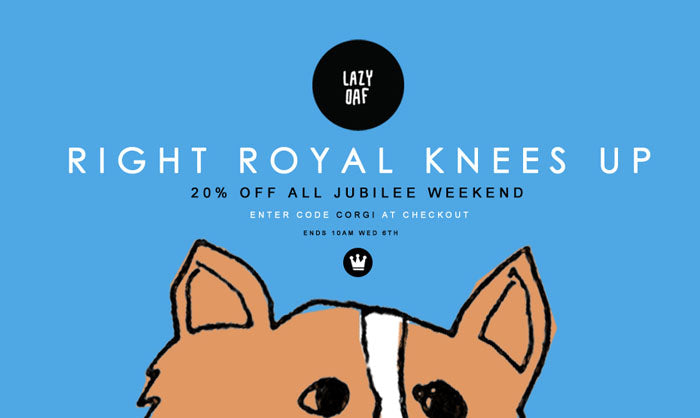 Right Royal Knees Up