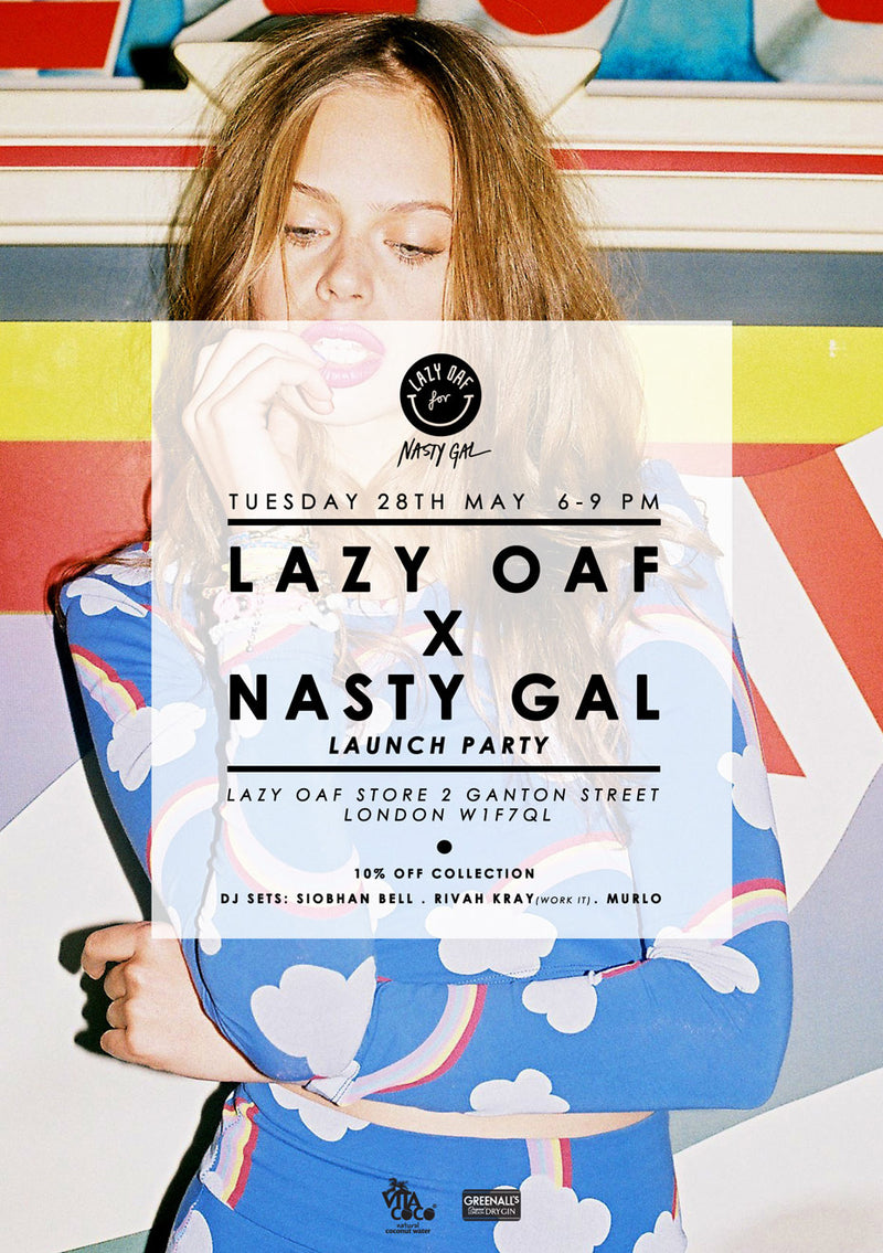 Lazy Oaf x Nasty Gal Launch Party