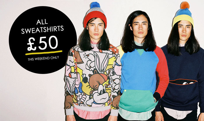 Flash Sale: Sweatshirts