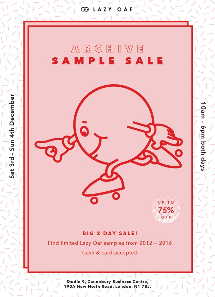 Lazy Oaf Archive Sample Sale