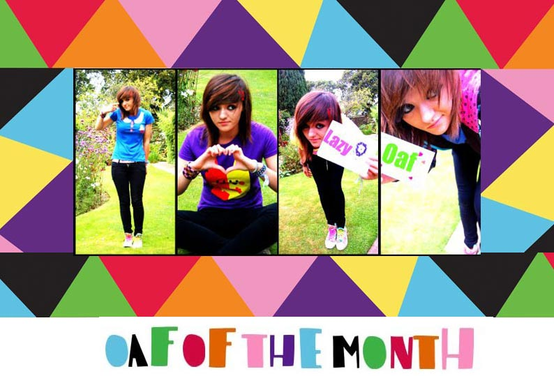 Oaf of the Month: Hannah Parrott