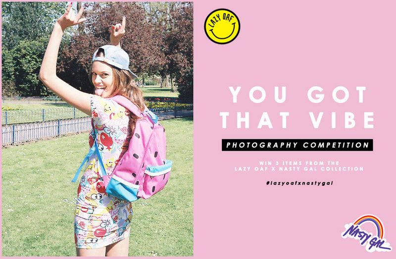Lazy Oaf x Nasty Gal: Instagram Competition