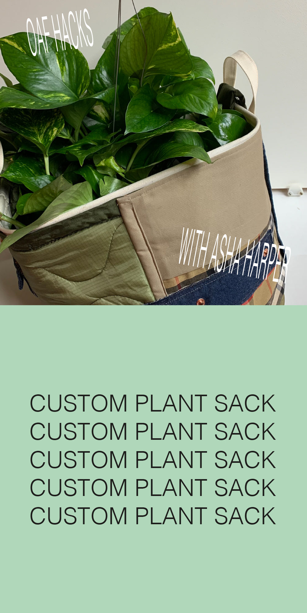 Oaf Hacks: Custom Planter with Asha Harper