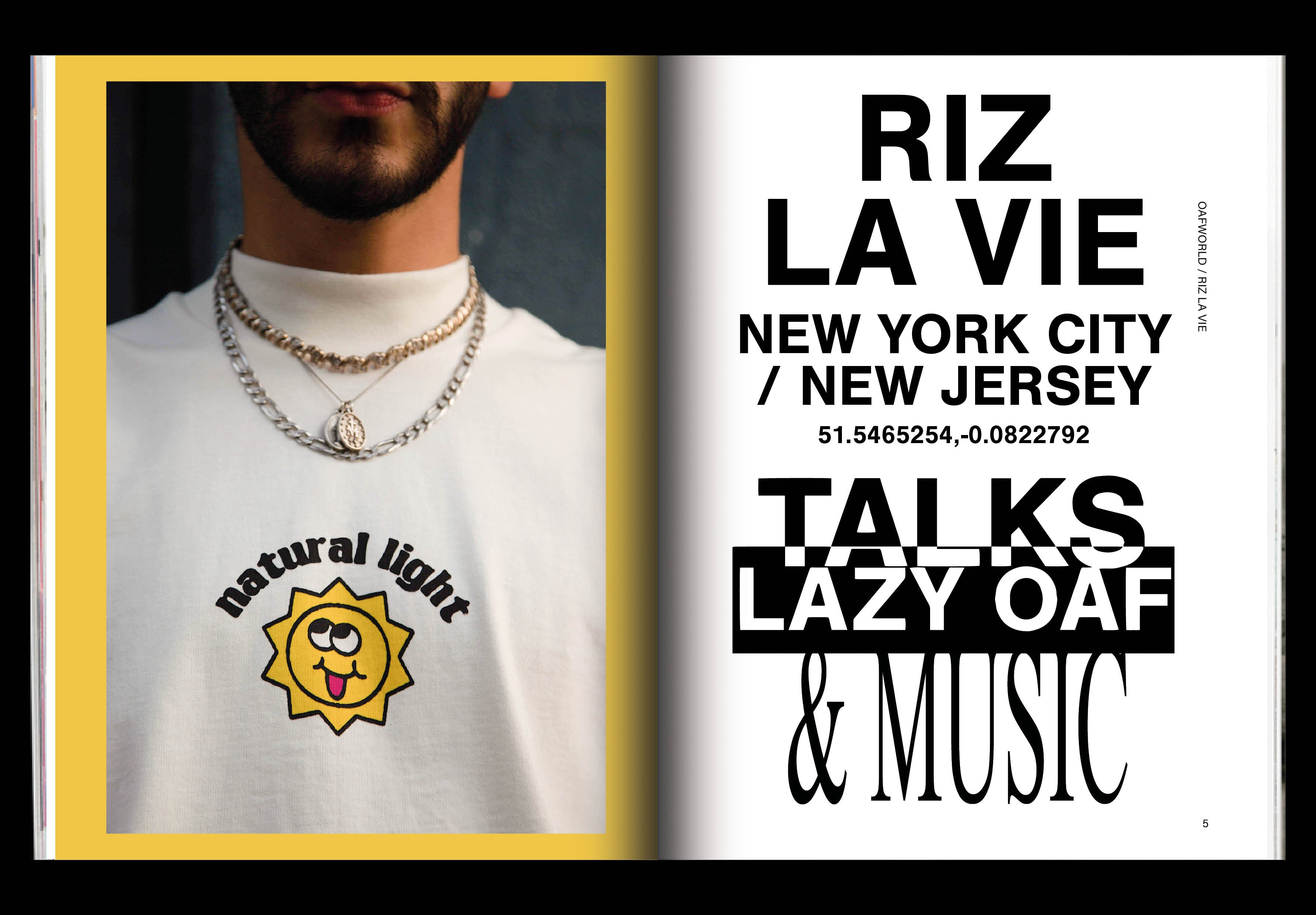 An afternoon in NYC with Riz La Vie