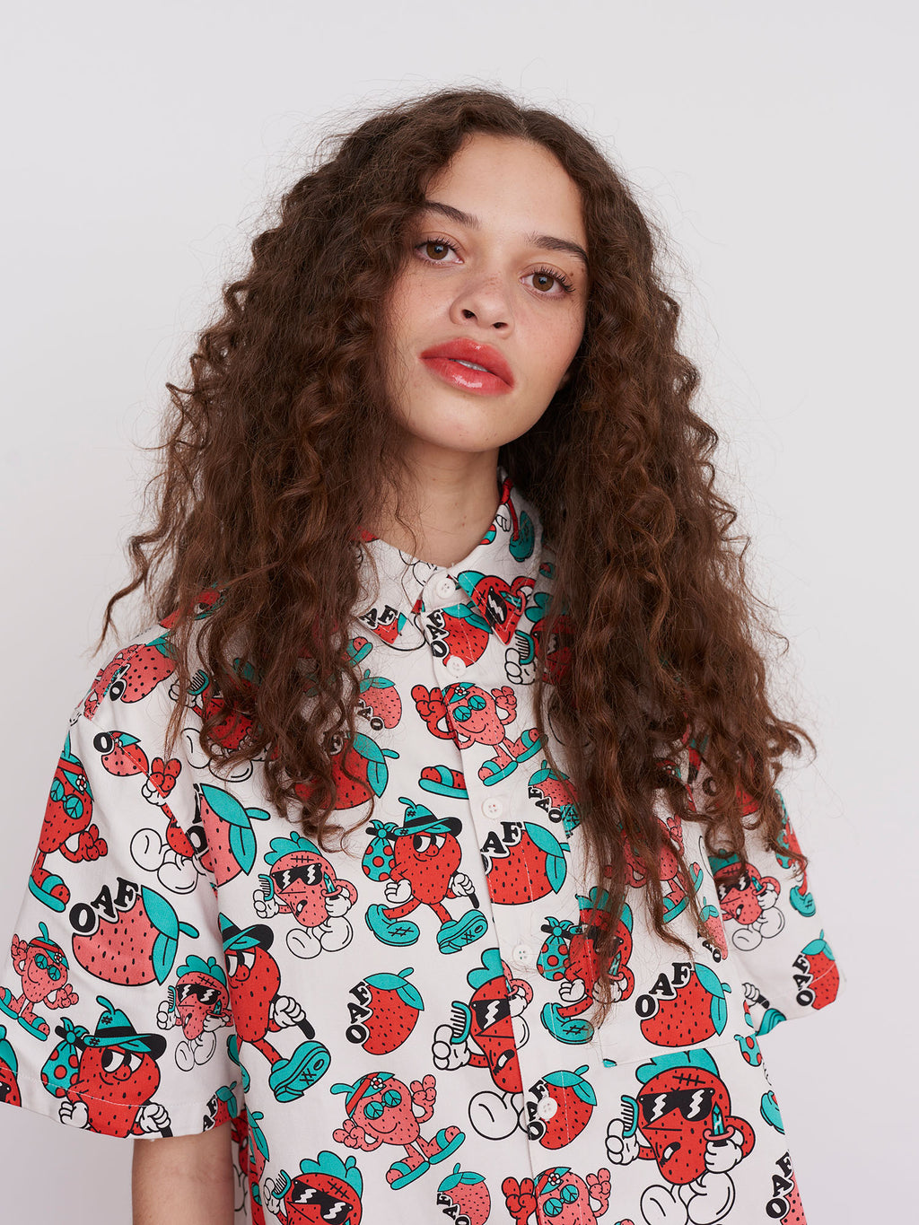 Lazy Oaf Berry Good Boxy Shirt