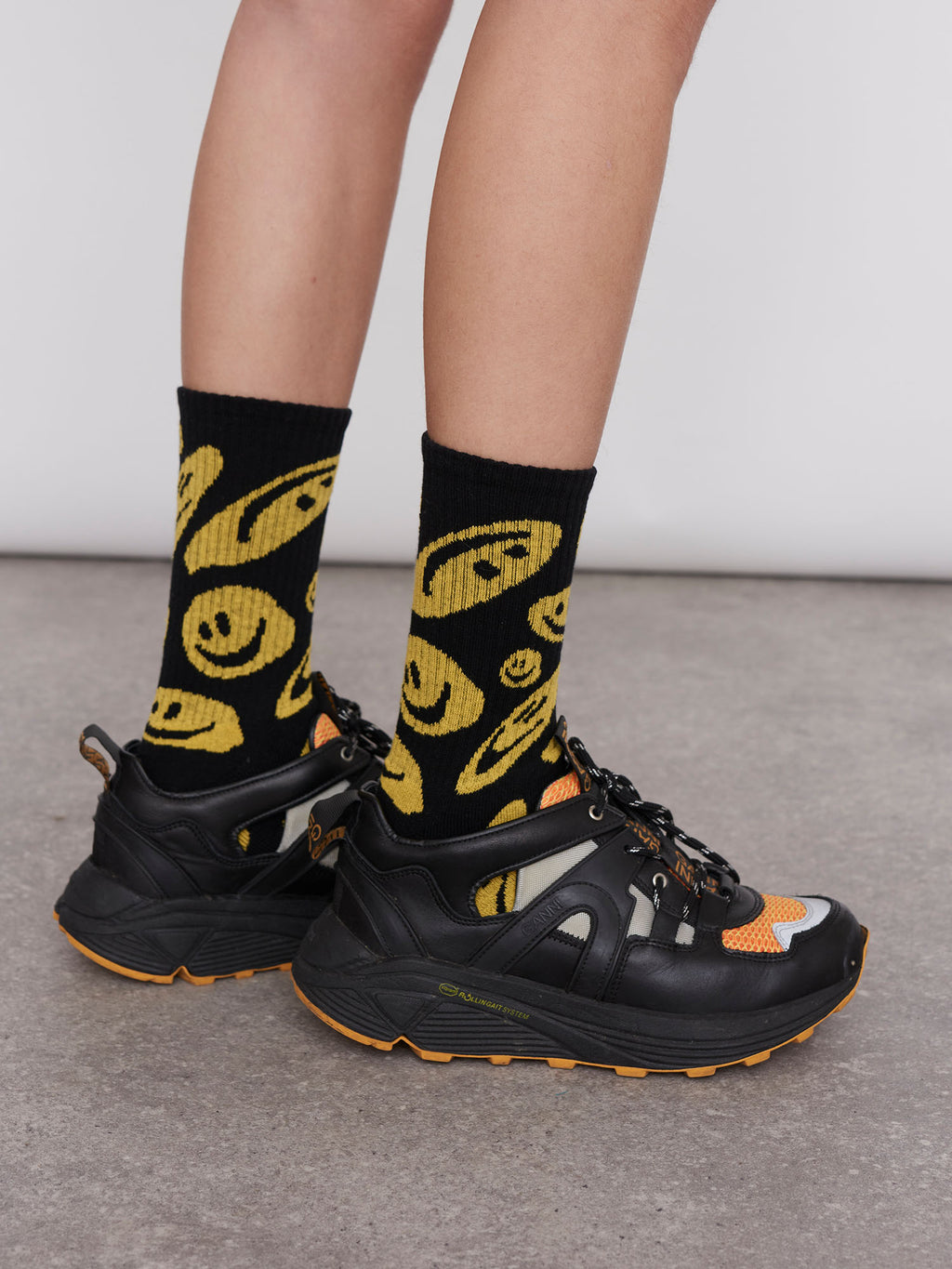 Lazy Oaf Squish Face Socks