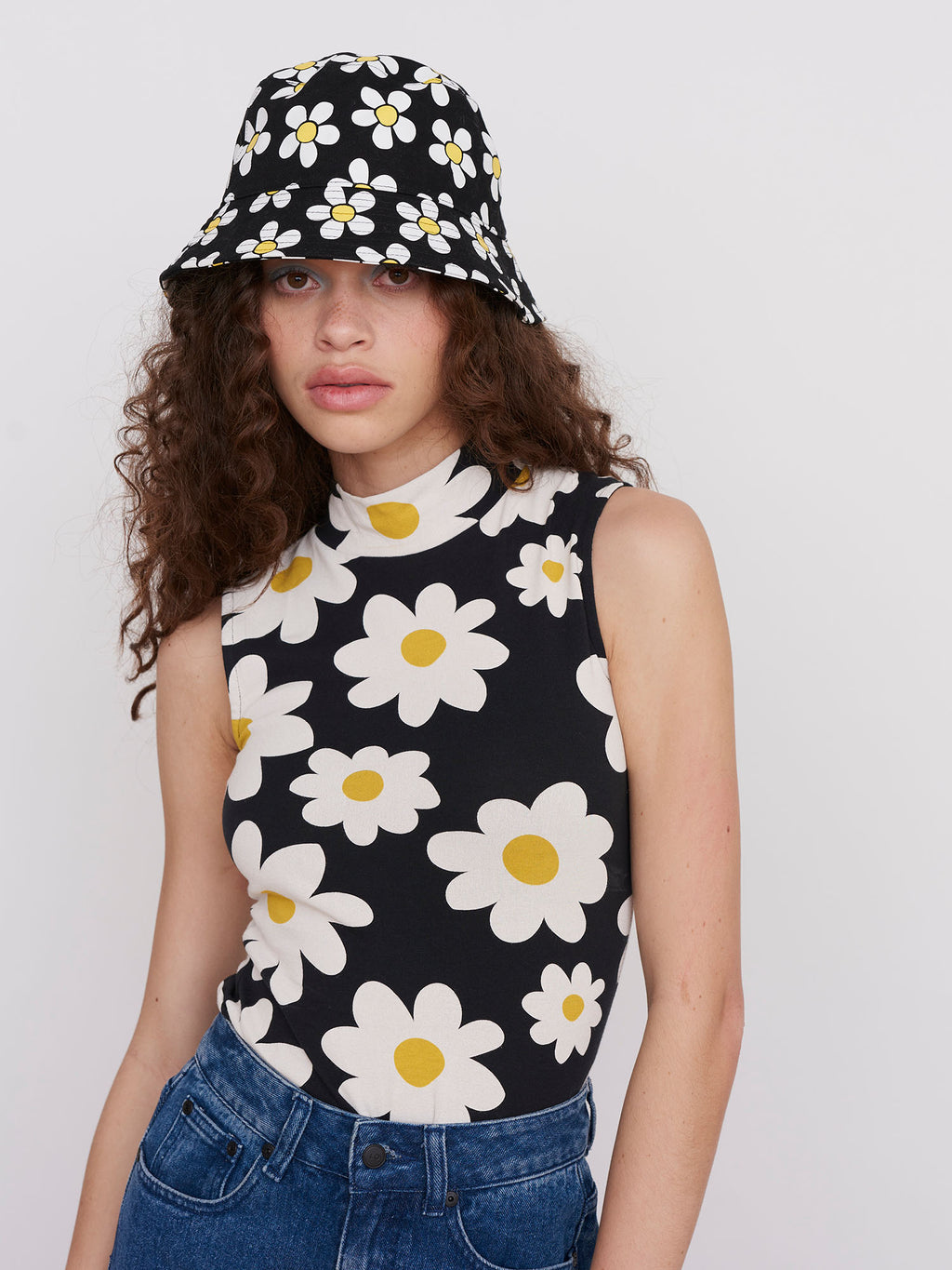 Lazy Oaf Daisy Chain Sleeveless Top