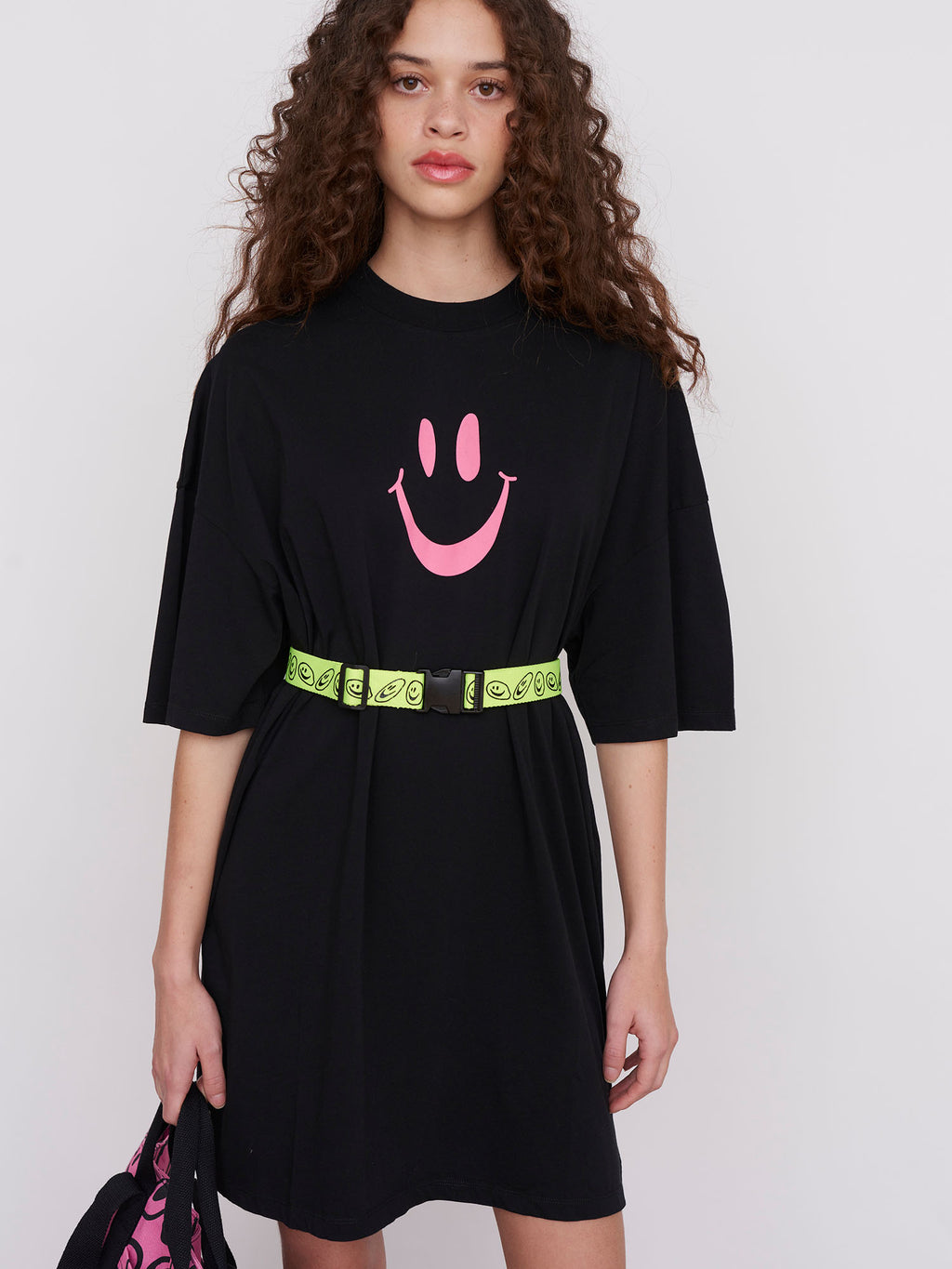 Lazy Oaf TV Listings T-Shirt Dress