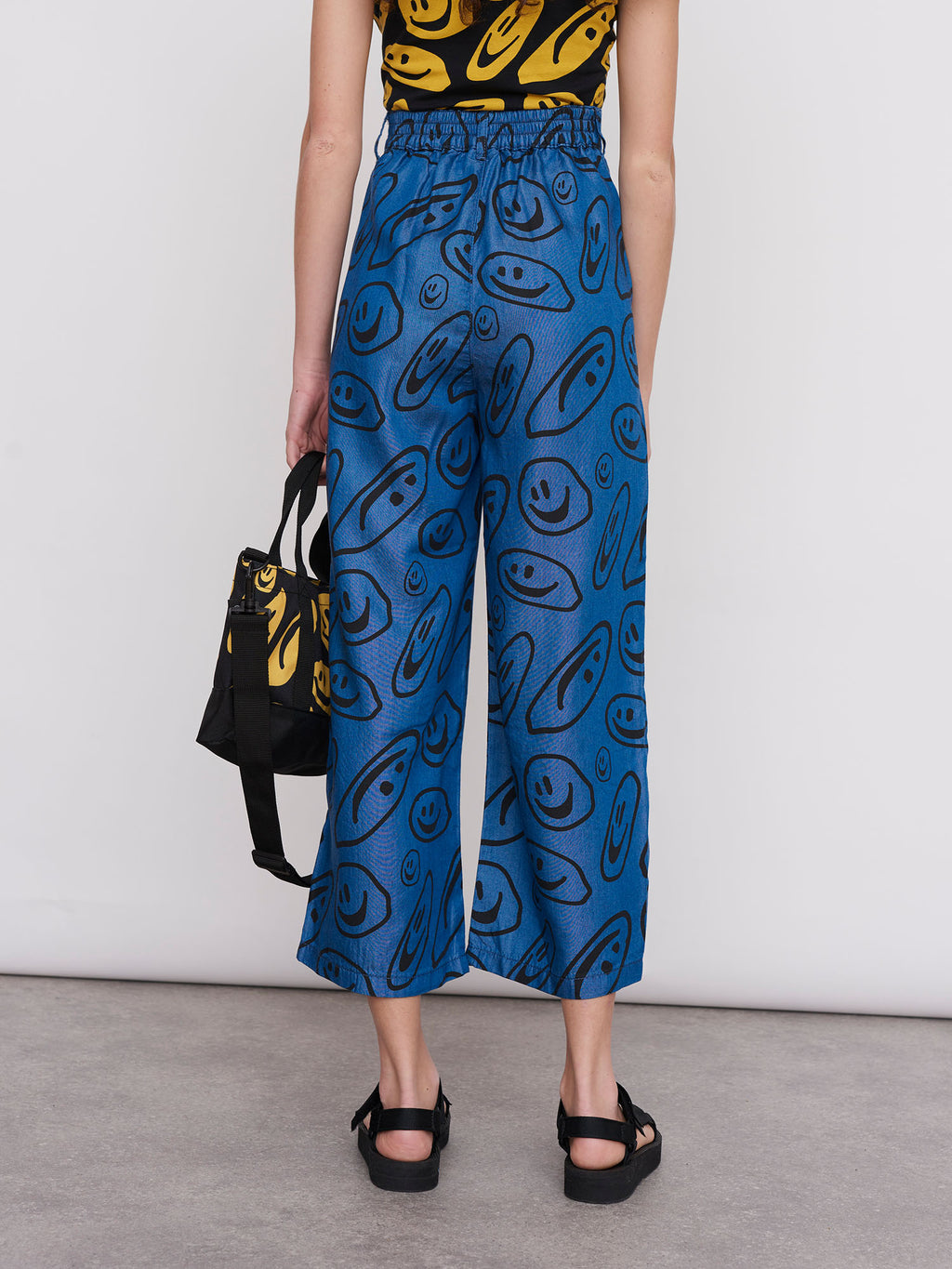 Lazy Oaf Squish Face Wide Leg Pants