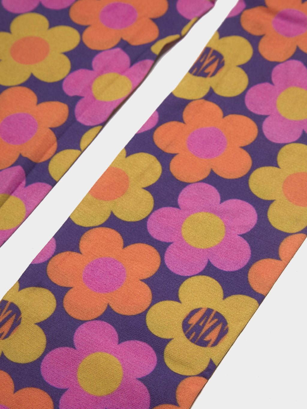 Lazy Oaf 70's Floral Print Tights