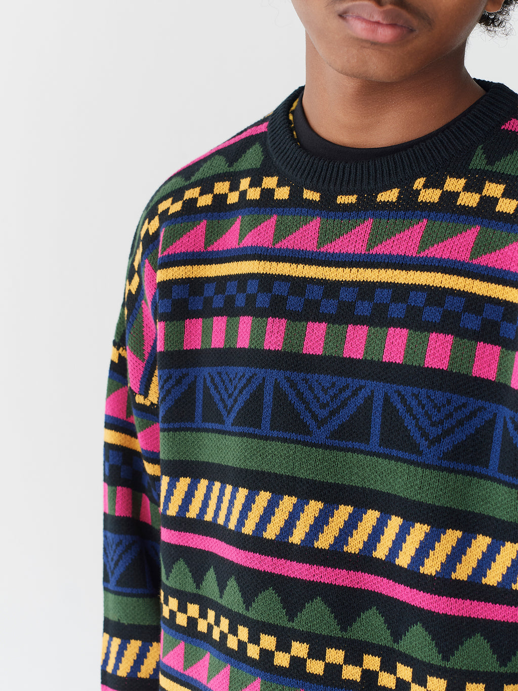 Lazy Oaf 8-Bit Stripe Jumper