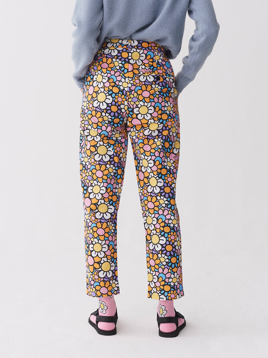 Lazy Oaf All The Flowers Peggy Pants