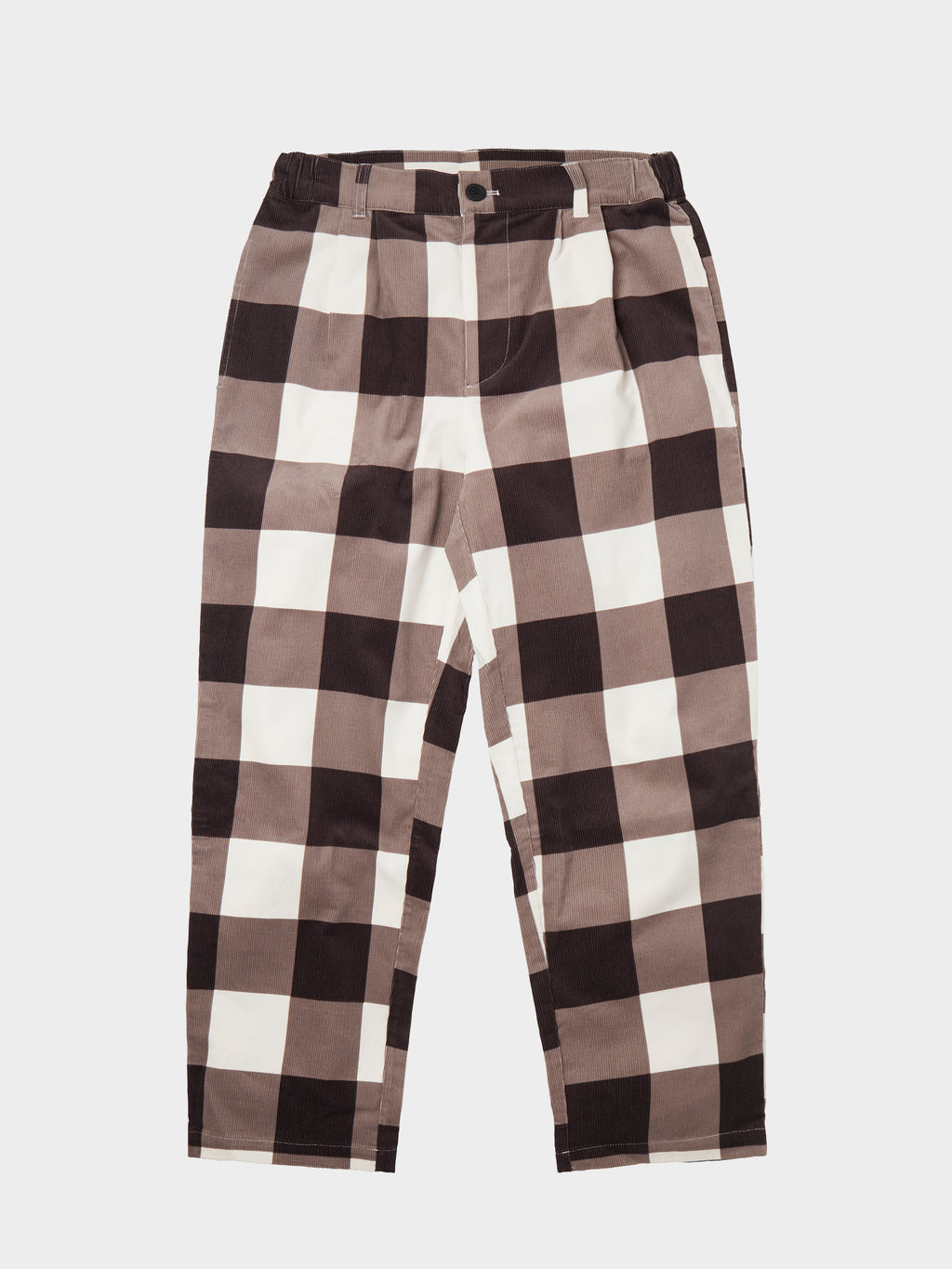 Lazy Oaf Allotment Check Cord Pants