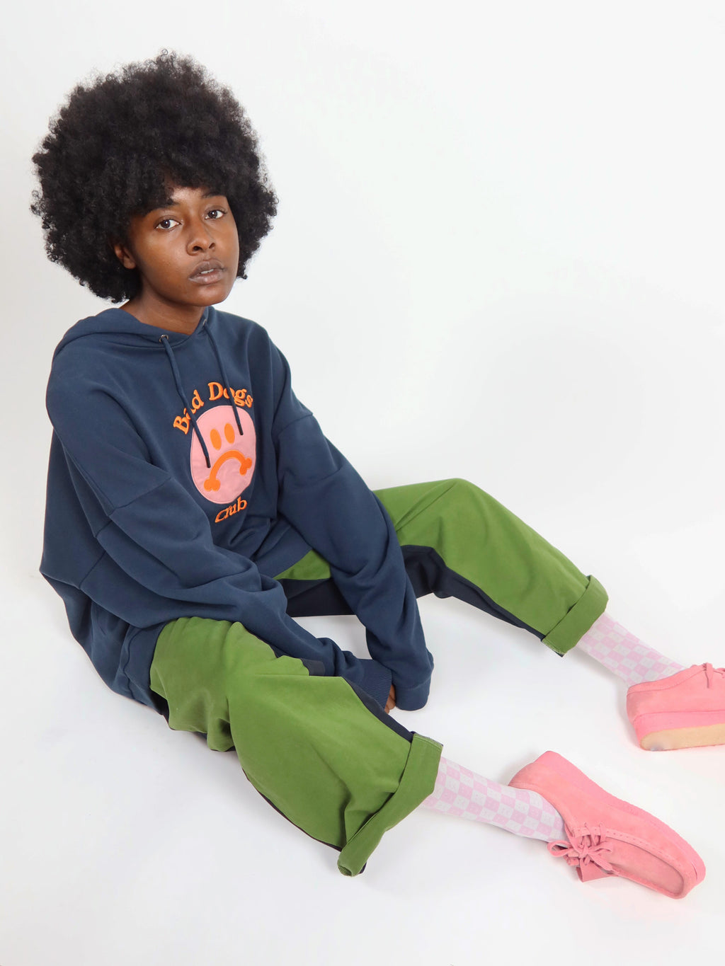 Lazy Oaf Bad Dogs Club Hoodie