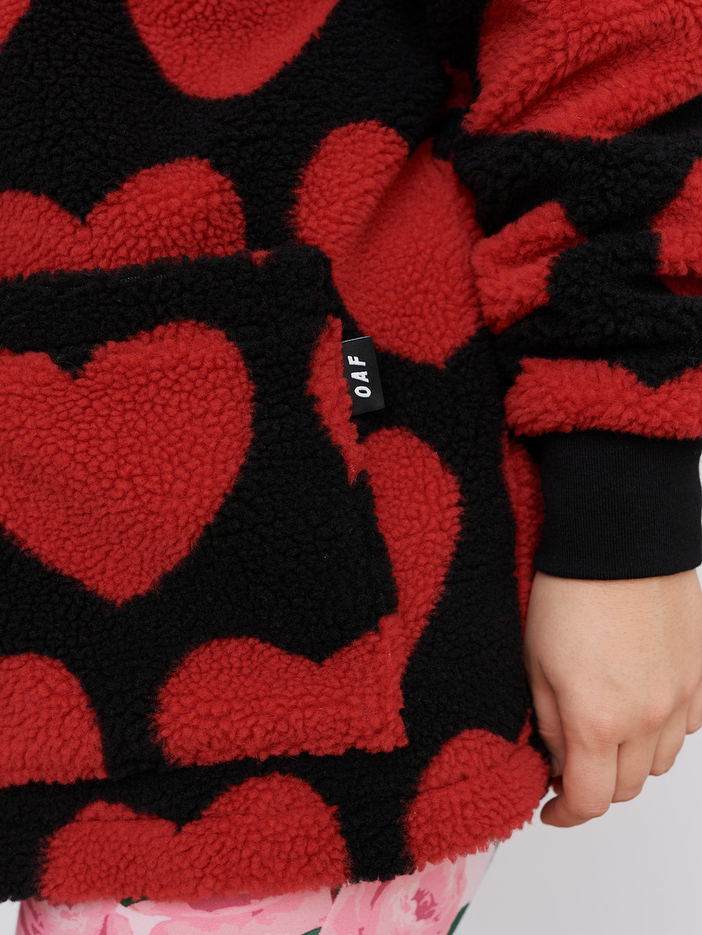 Lazy Oaf Big Love Heart Fleece