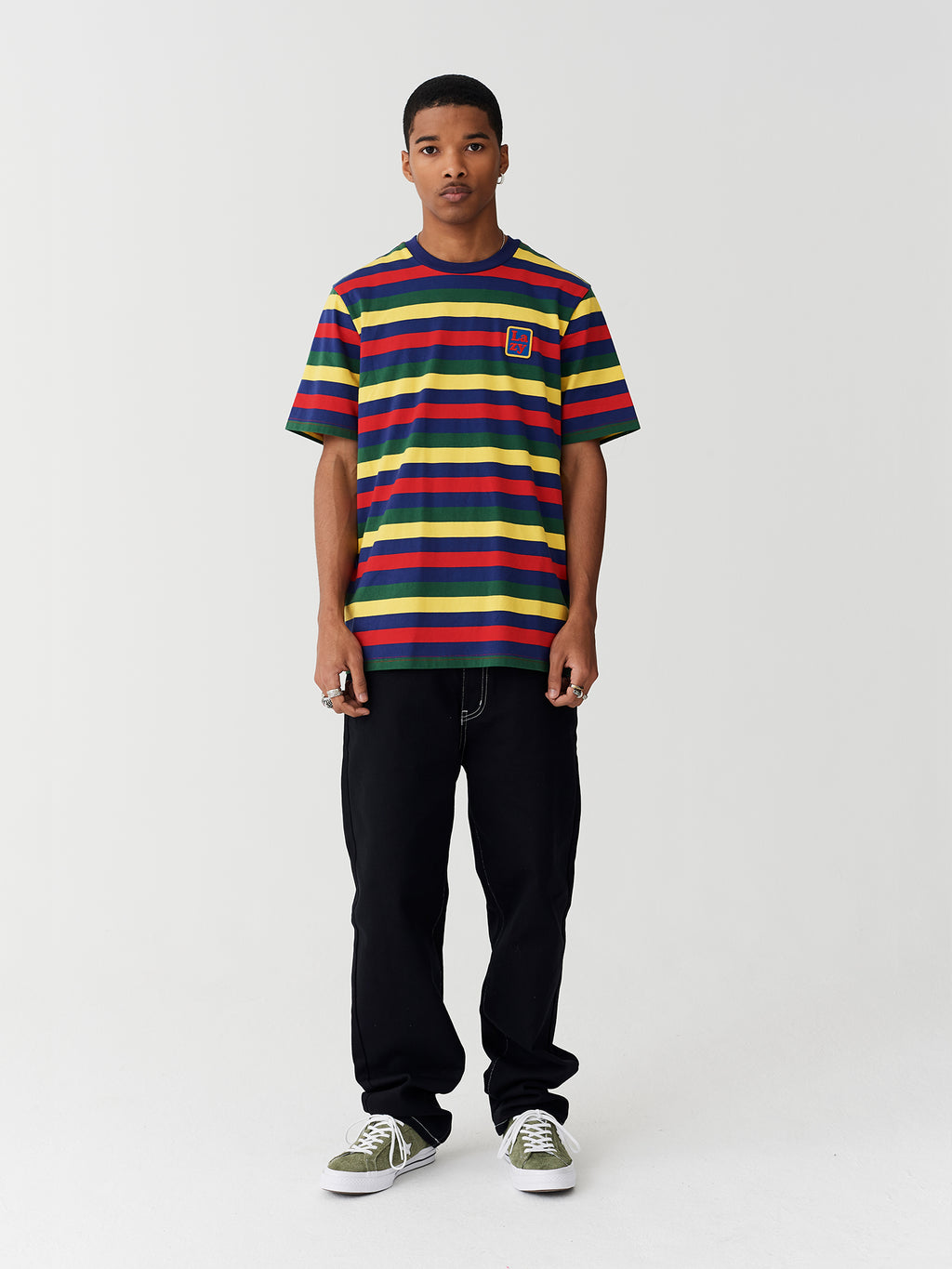 Lazy Oaf Big Stripe Lazy T-Shirt