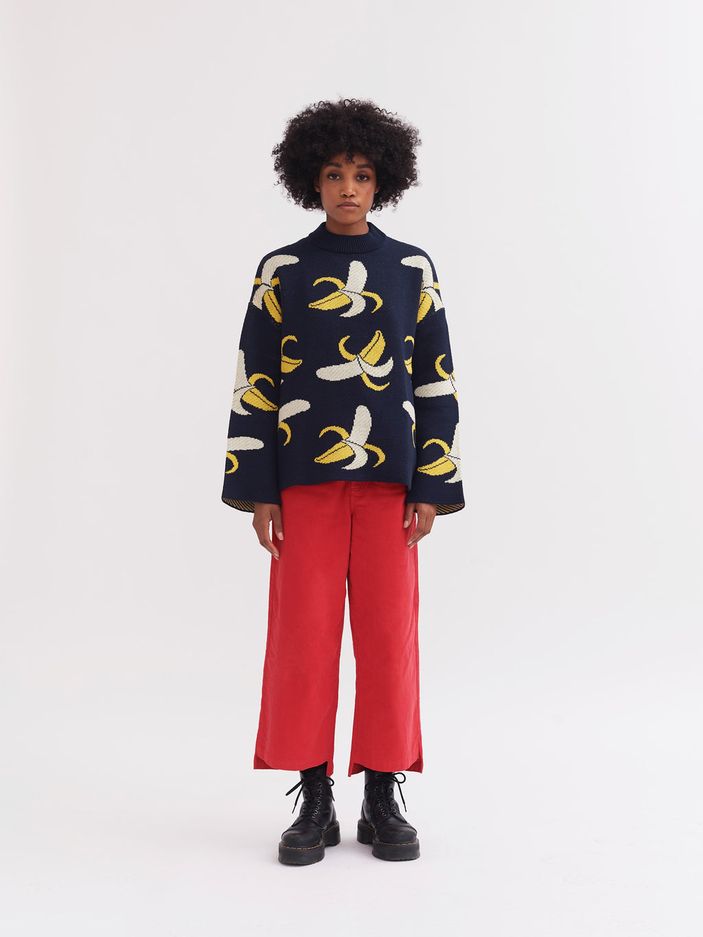 Lazy Oaf Woah, Banana! Knit Jumper