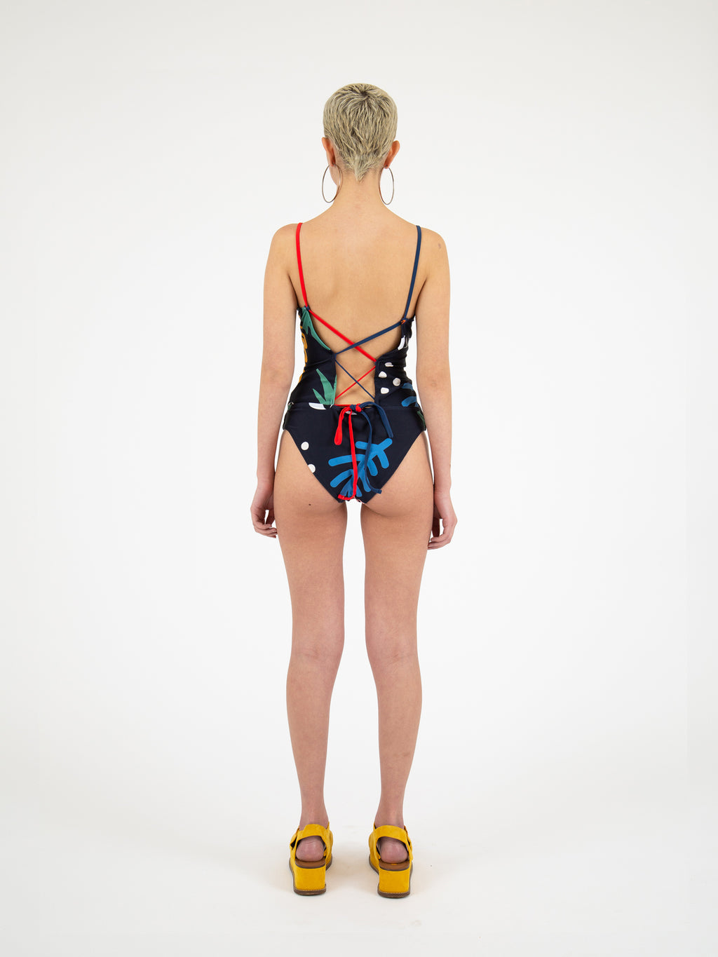 Lazy Oaf Big Print Swimsuit