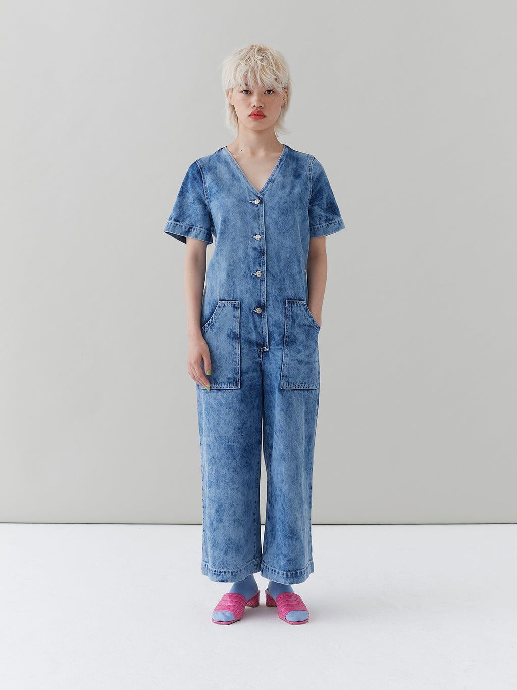 G.E.M. Bleached Boilersuit