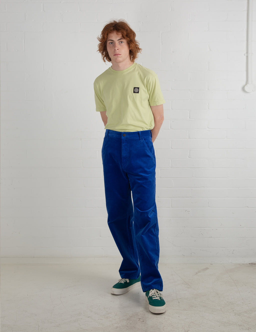 Lazy Oaf Electric Blue Cord Trousers