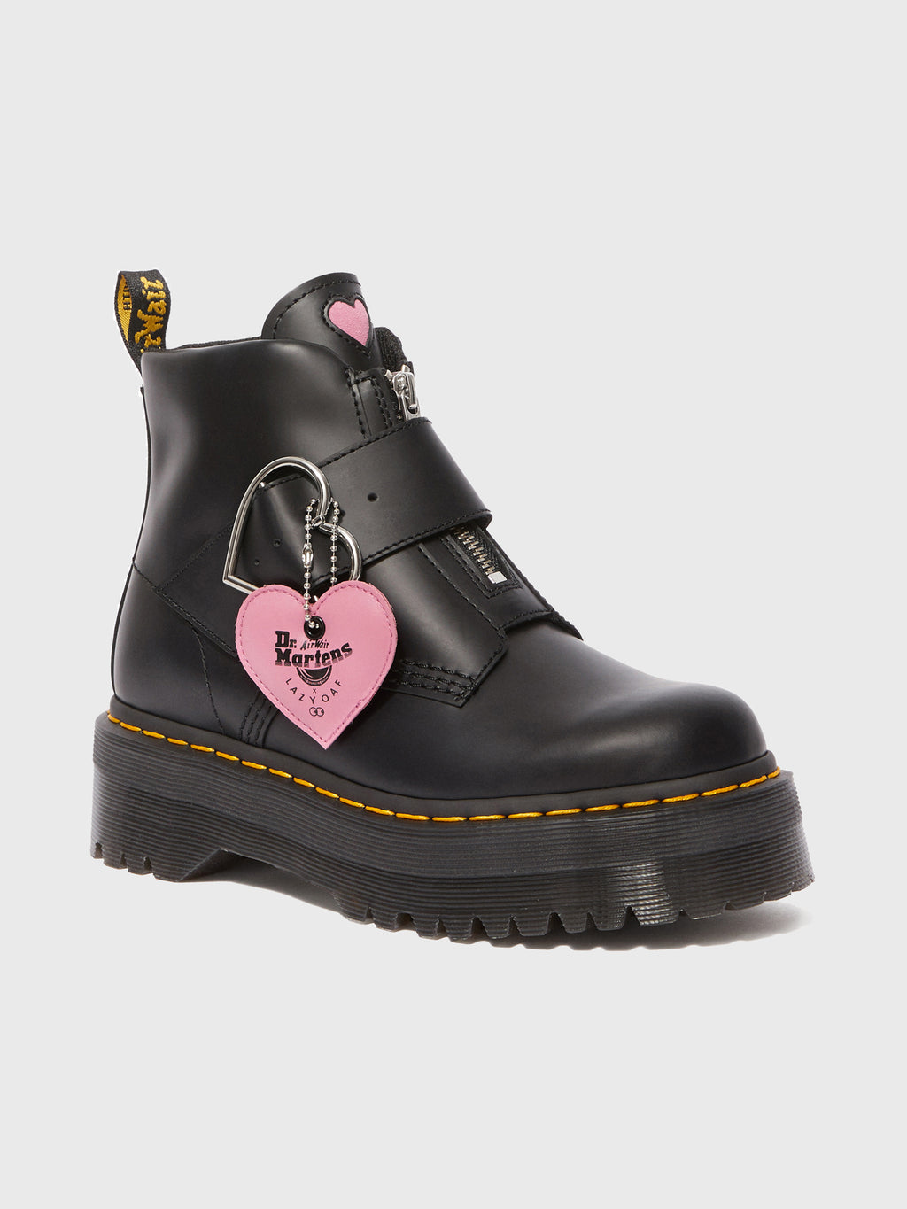 Dr Martens X Lazy Oaf Buckle Boot