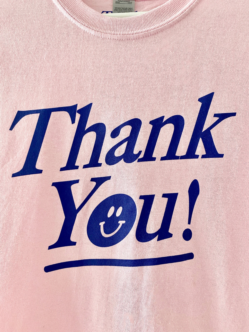 Thank You T-Shirt - Pink
