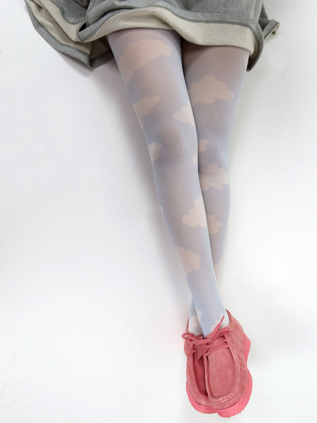 Lazy Oaf In The Clouds Tights