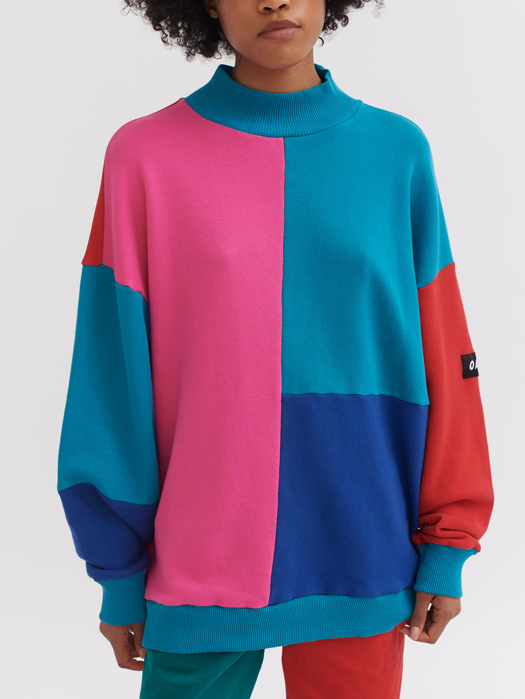 Lazy Oaf Cut & Colour Sweatshirt