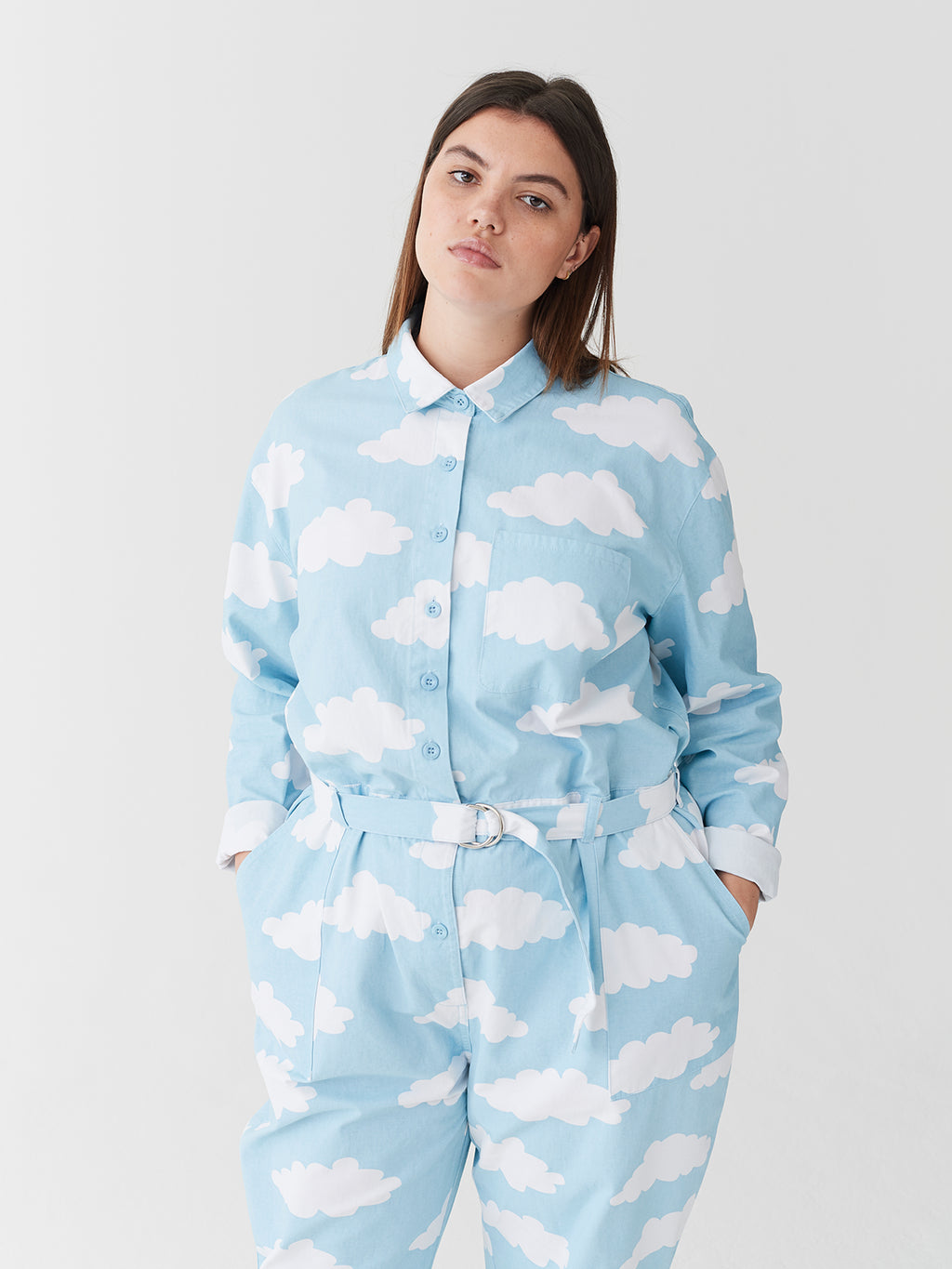 Lazy Oaf Head In The Clouds Boilersuit