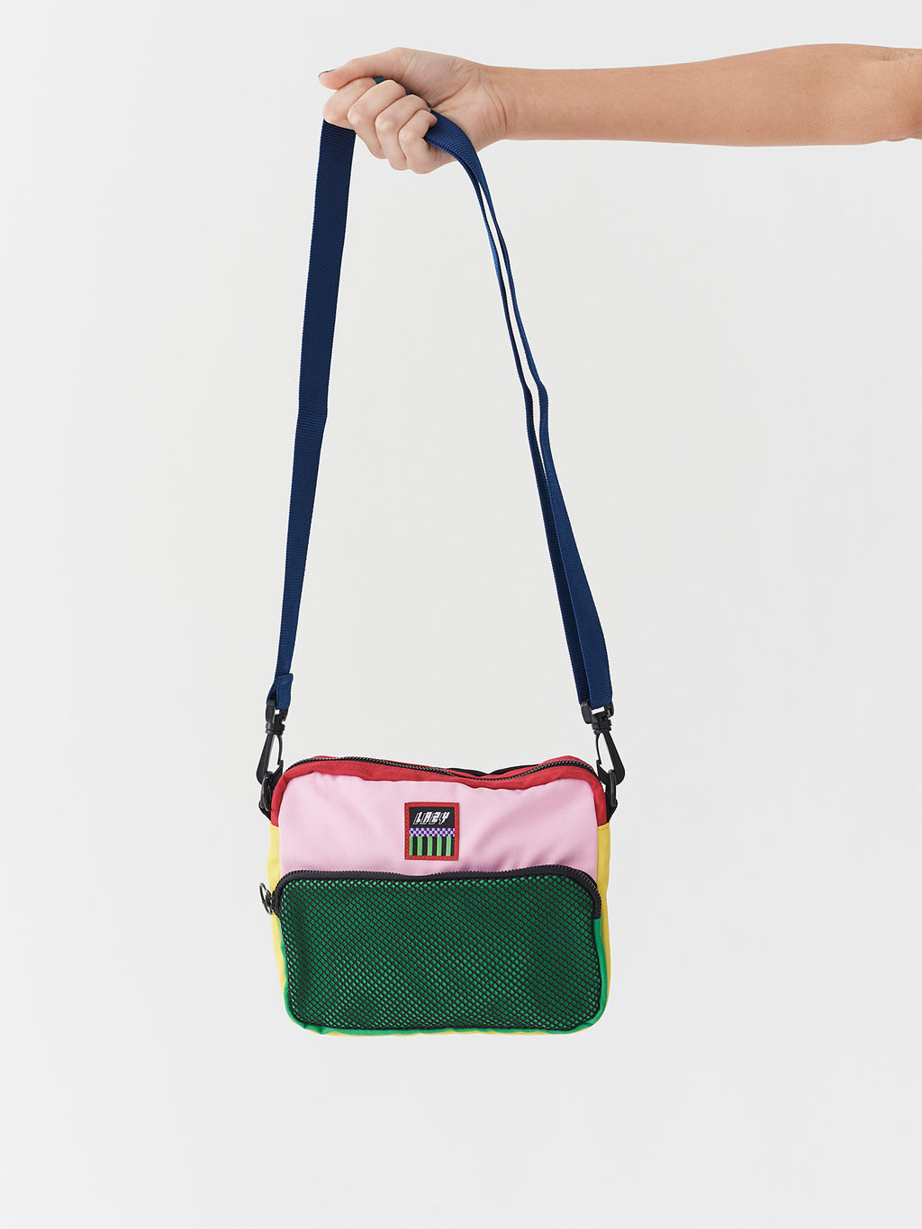 Lazy Oaf Colour Block Shoulder Bag