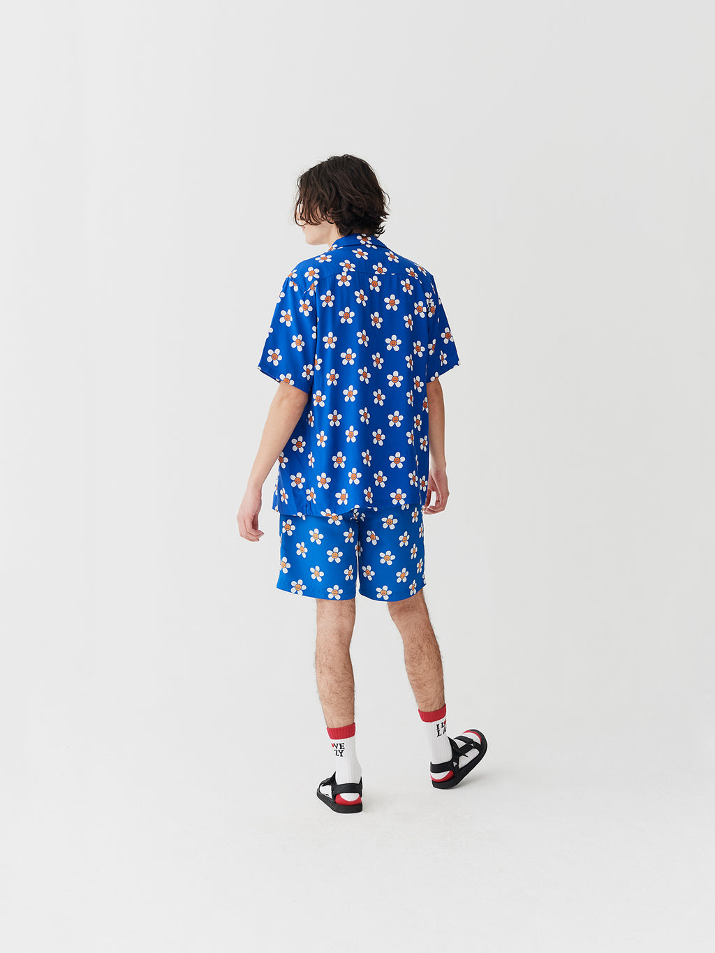 Lazy Oaf Daisy Swim Shorts