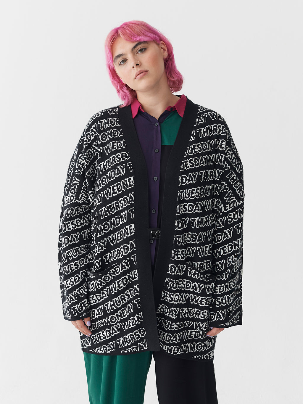 Lazy Oaf Day After Day Cardigan