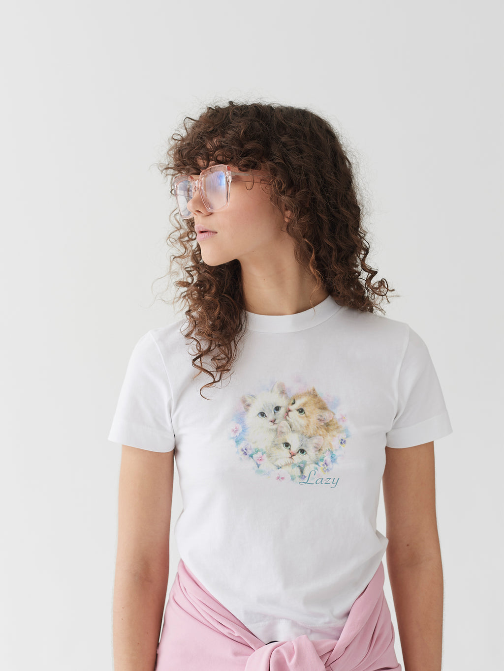 Lazy Oaf Daydreamers Fitted T-Shirt