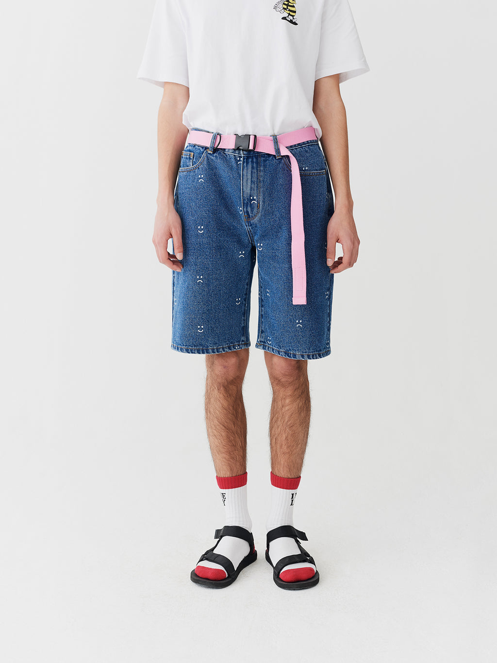 Lazy Oaf Denim Dad Shorts