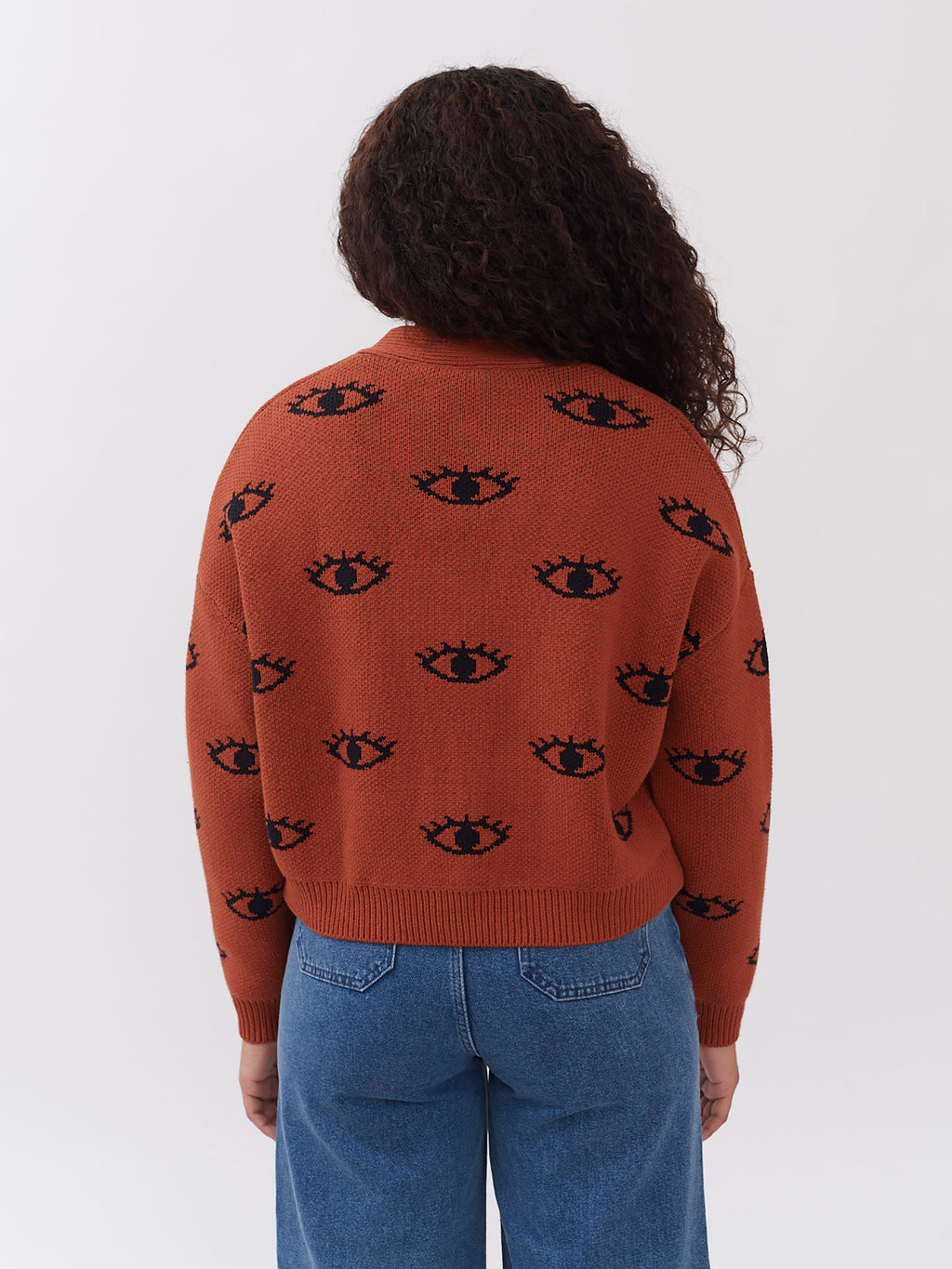 Lazy Oaf Eye For An Eye Cardigan