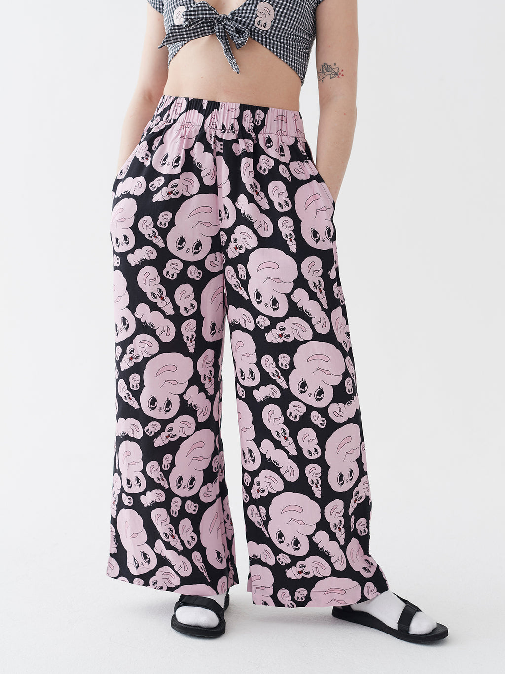 Esther Loves Oaf All Over Bunny Pants