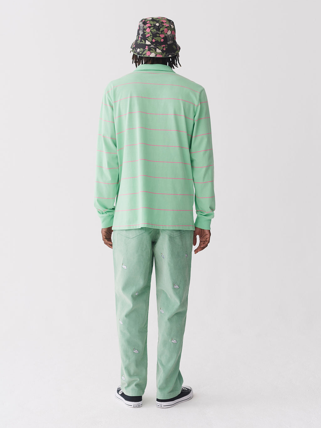 Lazy Oaf Eyes On You Stripe Jersey